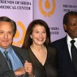William Friedkin and Sherry Lansing, and Sidney Poitier — Stock Photo
