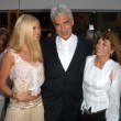 Katharine Ross, Sam Elliott and daughter Cleo — Zdjęcie stockowe