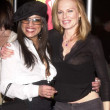 Marg Helgenberger and friend - Stock Photo