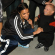 Michelle Rodriguez and Verne Troyer — Stock Photo #17738361