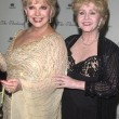 Ruta Lee and Debbie Reynolds - Stock Photo