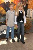 Cayden and Jenna Boyd — Stock Photo