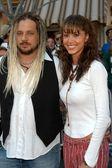 Shannon Elizabeth and Joe Reitman — Stock Photo