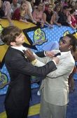Ashton Kutcher and Puff Daddy — Stock Photo