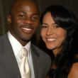 ストック写真: Derek Luke and wife Sophia