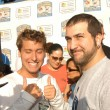 Lance Bass and Joey Fatone - Stockfoto