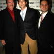 Pat O'Brien and Adrien Brody and Jason Binn, L.A. Confidential publisher — Stock Photo