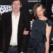 Paul W.S. Anderson and Milla Jovovich — Stock Photo
