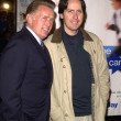 Stock Photo: Martin Sheen and son Ramon Estevez