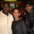 Stock Photo: Clifton Powell, wife Kim and Nephew