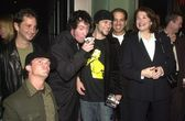 "Sherry Lansing with the cast of ""Jackass"" — Stock Photo"