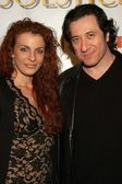 Frederico Castelluccio and Michelle — Stock Photo