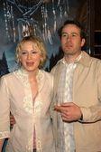Jason lee ve nişanlısı beth — Stok fotoğraf