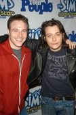 Edward Furlong, Mark Famiglietti — Stock Photo