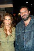 Joel Silver and wife Karyn Fields — Stock Photo