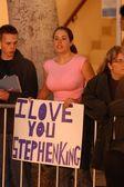 A Stephen King Fan — Stock Photo