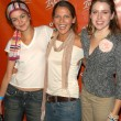 Nora Zehetner, Majandra Delfino and friend — Stockfoto