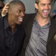 Tyrese and Paul Walker — Stock Photo