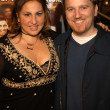Kathy Najimy and husband Dan Finerty — Stock Photo