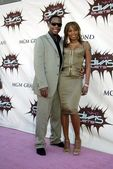 Mary J. Blige and finance Kendu Isaacs — Stock Photo
