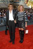 Virginia Madsen and Yoshiki — Stock Photo