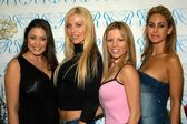 Miriam Gonzalez, Sheila Levell, Renee Sloan and Shauna Sand — Stock Photo