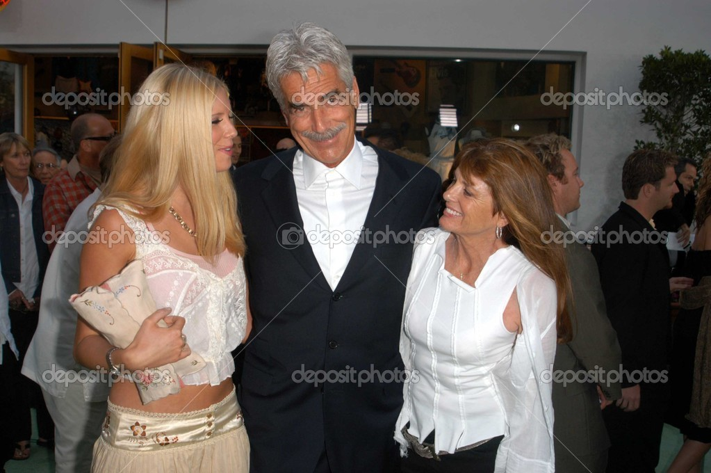 Katharine Ross Sam Elliott Et Sa Fille Cleo Photo