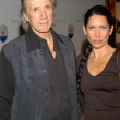 David Carradine and Annie Bierman — Lizenzfreies Foto