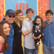 John Ritter, Amy Yasbeck and family - Stock Photo