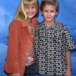 Jenna Boyd and brother Cayden Boyd - Lizenzfreies Foto