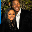 Постер, плакат: Flex Alexander and wife Shanice