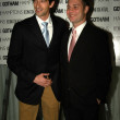 Adrien Brody and Jason Binn, L.A. Confidential publisher — Stock Photo