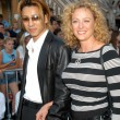 Virginia Madsen and Yoshiki — Stock Photo