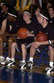 Frankie Muniz and Chris Kirkpatrick — Stock Photo