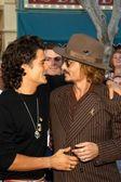 Johnny Depp and Orlando Bloom — Stock Photo