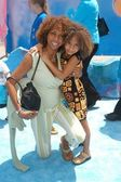 Holly Robinson-Peete and daughter Ryan — Stock Photo