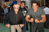 Stan Lee and Lou Ferrigno — Stock Photo
