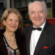 Stock Photo: Richard Herd and wife Patricia