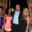 Stock Photo: Tom Arnold with wife Shelby and playmates