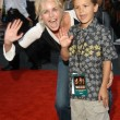 Stock Photo: RebeccRomijn Stamos and nephew Blake