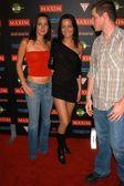 Nikki Collins, Teena Collins and Brendan Fehr — Stock Photo