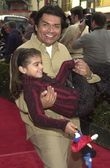 George Lopez and daughter Mayan — Stok fotoğraf