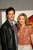 Sharon Lawrence and Dr. Tom Posel — Stock Photo