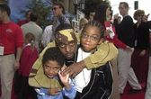 Coolio and kids — Stock fotografie