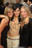 Kerri Kasem with friends Kristen and Stacy — Stock Photo