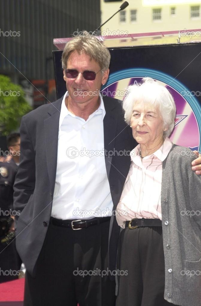 ハリソン ・ フォードと mom ドロシー - ストック編集用写真©s_bukley#17777555