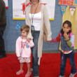 Lisa Rinna and kids Andrea and Delilah - Stock Photo