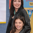 Stepfanie Kramer and daughter Lily - Stock Photo
