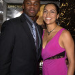 Derek Luke and wife Sophia — Stok Fotoğraf #17785121