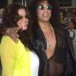 Slash and wife Perla — Stock Photo #17786445
